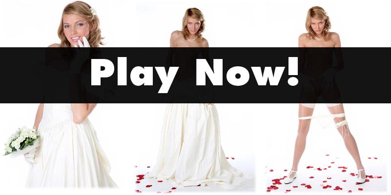 Jewel in wedding dress...