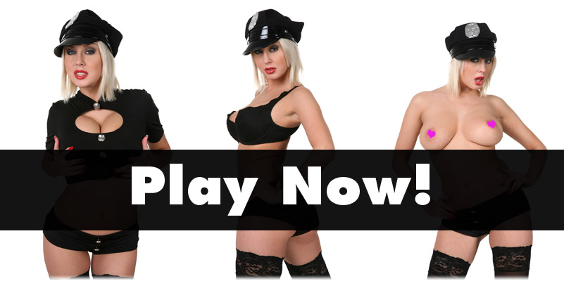 Mandy Dee in sexy cop outfit
