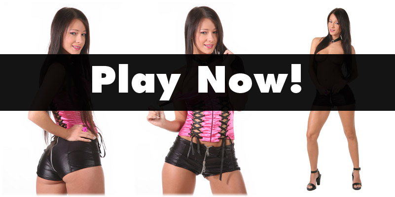 Melisa in hotpants and corset