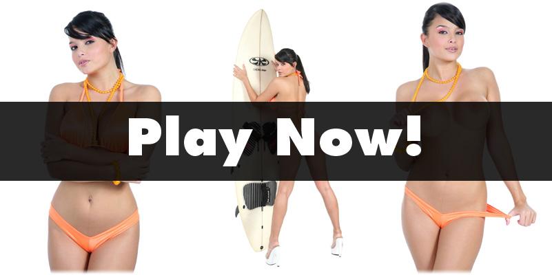 Play Strip Hold'em with Sarah