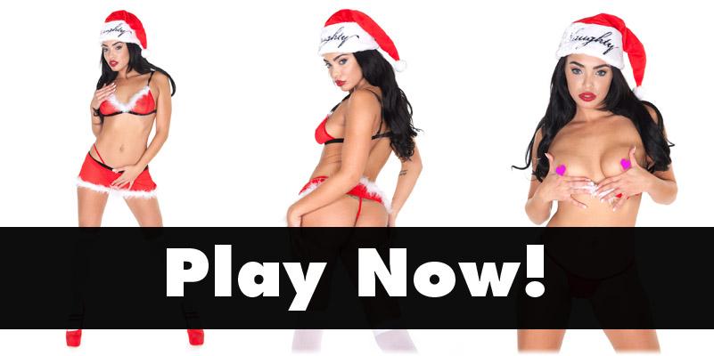Selena Santana is Santa